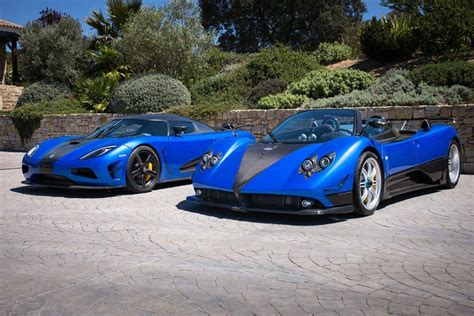 koenigsegg pagani photo of the day koenigsegg agera hh and pagani zonda hh