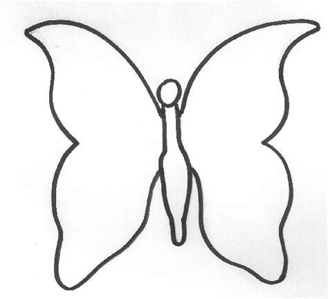 molde gratis de mariposa para imprimir moldes de mariposas para recortar imagui