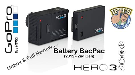 2nd Gopro 3 Black Editon Equip gopro 3 battery bacpac unbox review