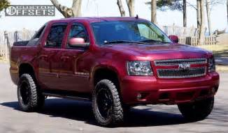 wheel offset 2008 chevrolet avalanche leveling kit