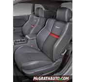 2011 Dodge Challenger SRT8 Seats  McGrath Auto Blog