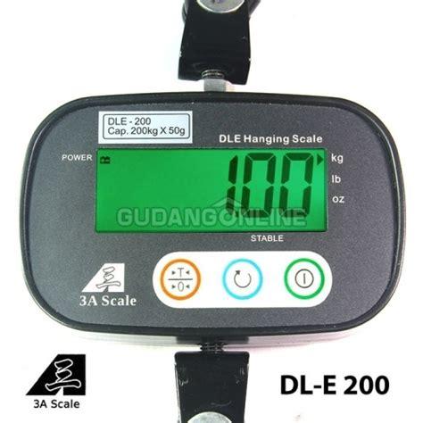 Timbangan Gantung Digital 200 Kg dle timbangan gantung digital electronic hanging scale 200