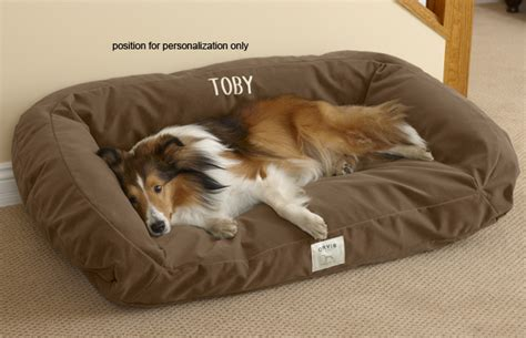 orvis dog bed chew resistant dog beds deep dish toughchew 174 dog bed