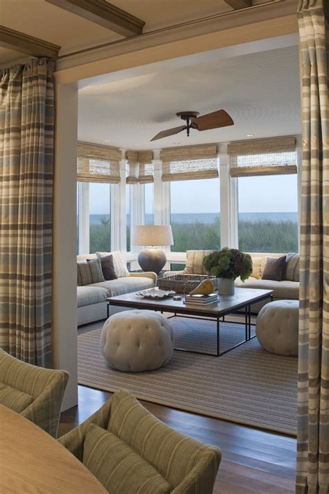 Sun Room Windows Ideas Window Treatments For Sunrooms Sunroom Traditional With Area Rug Brown Seat Beeyoutifullife