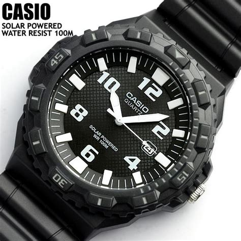 Jam Tangan Casio Mrw S300h 1b2v Original casio solar powered 100 m water resistant mrw s300h 1bvef