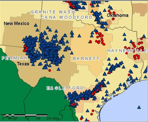 texas drilling map appealing to heads and not hearts opting for 100 renewable energy green world