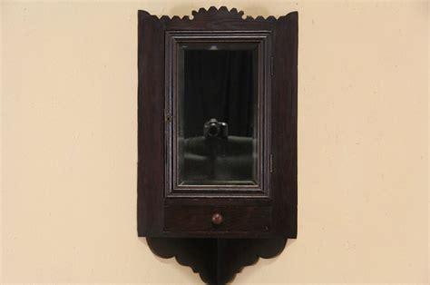 sold folk 1890 s antique corner cupboard medicine
