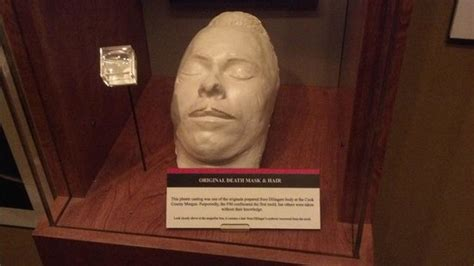 Electric Chair Prop Death Mask Of Dillinger On Display Picture Of National