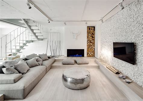 Home Interior Wall Design A Bright White Home With Organic Details