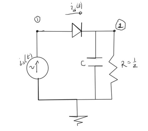 capacitor challenge problems resistor and diode circuit 28 images challenge problem 26 70 a diode a resistor and a