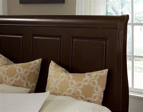 Low Profile King Headboard by Vaughan Bassett Market King Bed W Sleigh Headboard