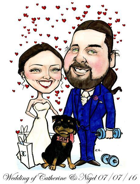 rottweiler message board rottweiler caricature and the rottweiler wedding caricature