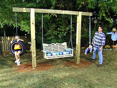 how to make a tire swing without a tree 13 ways to make tire swings guide patterns