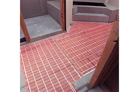 Suntouch Heat Mat by Suntouch Electric Floor Heating Mat 2014 10 27