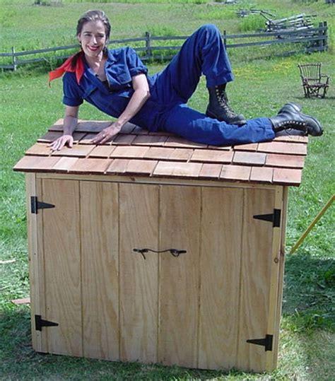 simple  easy steps  build  garbage storage shed