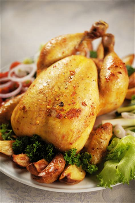 how to oven roast a whole chicken