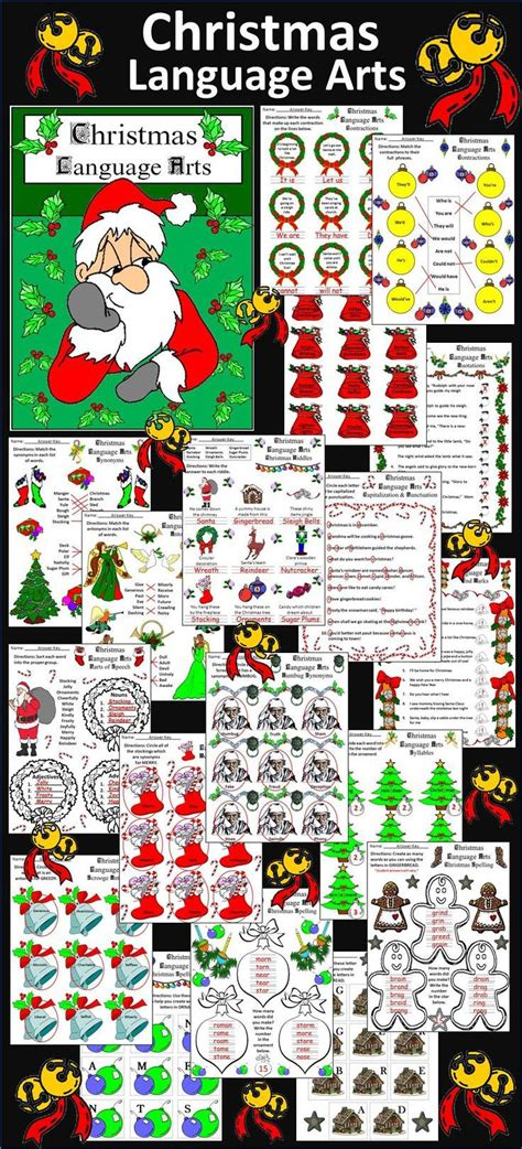 themes in language arts 1043 best christmas and december reading language arts