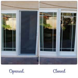 sliding glass door screen
