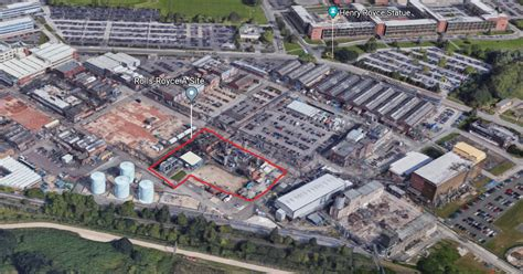 rolls royce derby news rolls royce planning to bulldoze more buildings at its