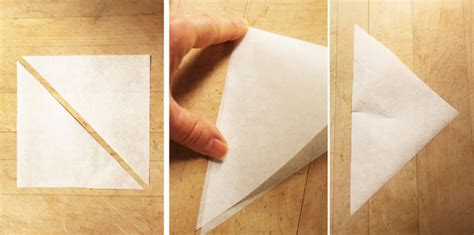 How To Make Parchment Paper Piping Bags - buttercream bees and how to make a piping cone