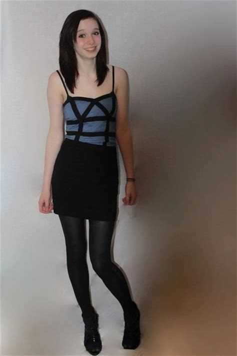 black skirt  tights teen porn tubes