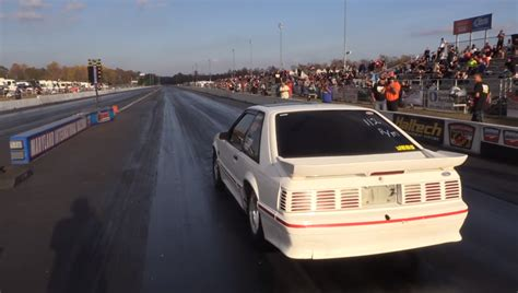 Sleeper Drag Race by This Mustang Sleeper Murder The Drag The