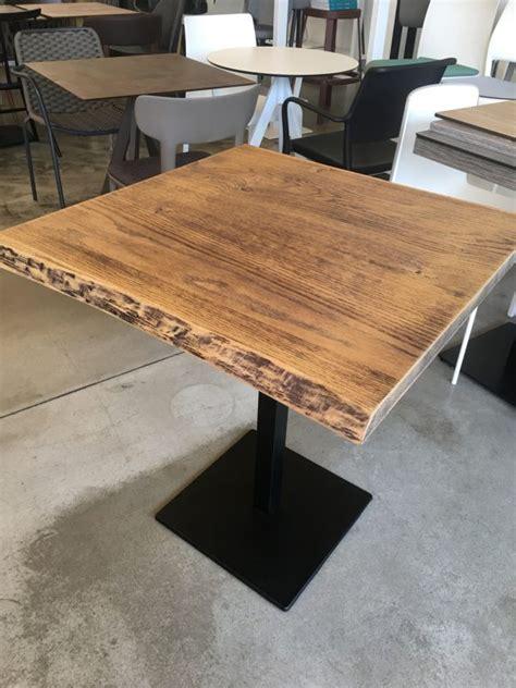 piano per tavolo legno tavolo piano legno corteccia con base centrale in metallo
