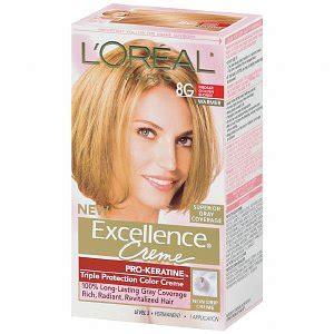 8g hair color l oreal excellence 8g medium golden haircolor