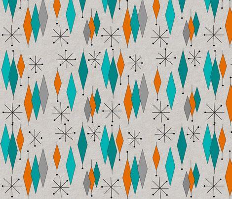 diamond pattern ideas mid century modern diamond pattern fabric mid century