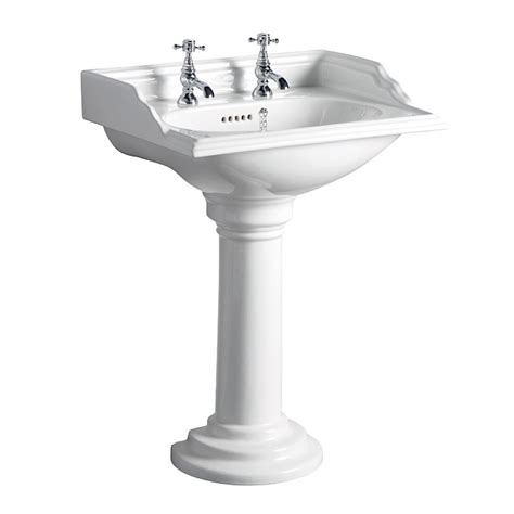 Square Pedestal Sink tc avebury square basin pedestal tc square sink