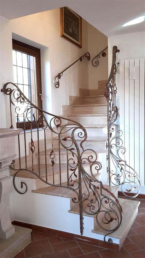 ringhiera scala ferro battuto balaustre interne in ferro scale in ferro battuto