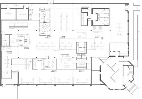 skylab architecture office floor plan office