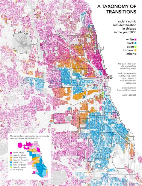 chicago ethnicity map mapping the racial landscape national vanguard