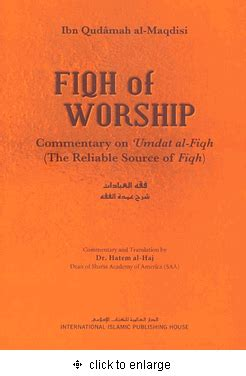 Fiqh Islam By Islamic Book Service fiqh of worship commentary on umdat al fiqh the