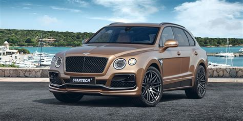 bentley startech bentley bentayga tuning startech refinement