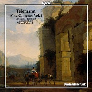 Telenan Transparan telemann wind concertos vol 1 cpo 7770322 ks classical