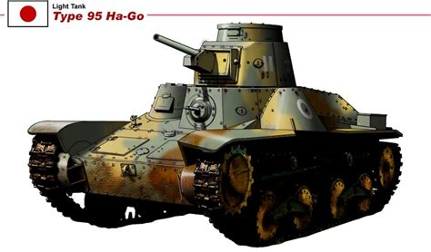 hängematte to go type 95 ha go light tank