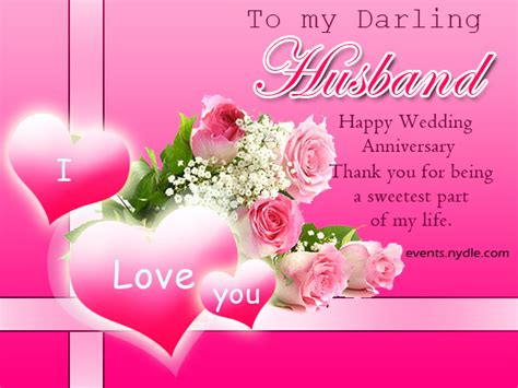 Wedding Anniversary Greetings For And In by Wedding Anniversary Cards For Husband Festival Around