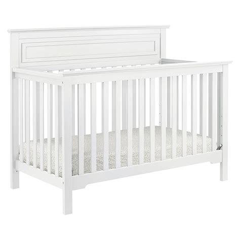 Crib White Convertible Davinci Autumn 4 In 1 Convertible Crib White Ideal Baby