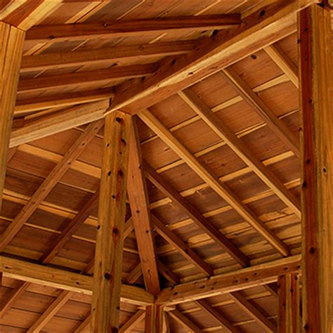 Timber Frame Hip Roof Santa Timberframes