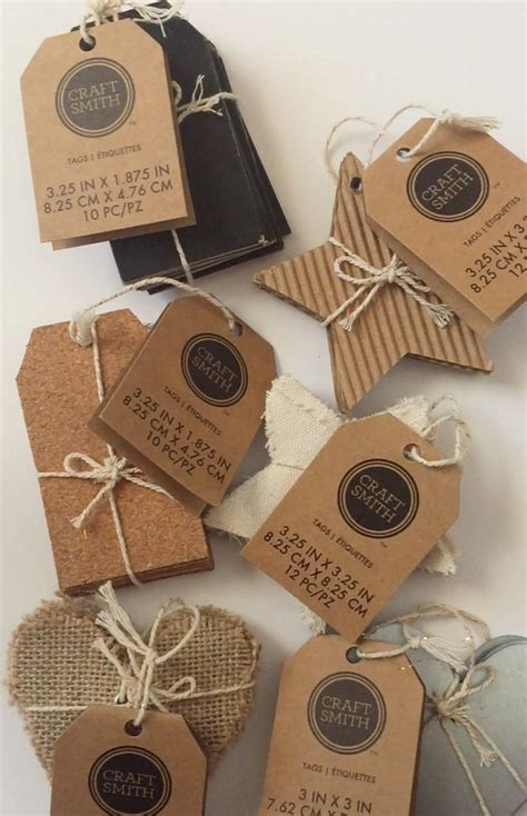 Craft Paper Tags - a craft smith craft smith