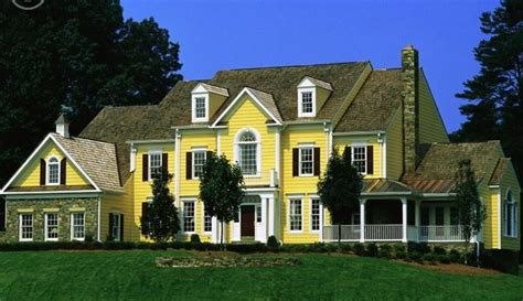 yellow houses easter parade of homes
