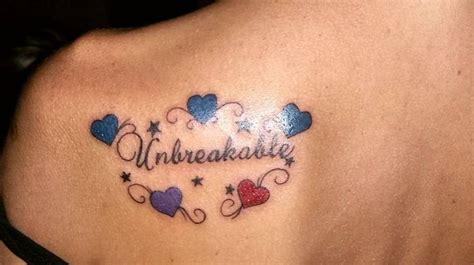 tattoo for family bond quot unbreakable quot represents bond of family the hearts