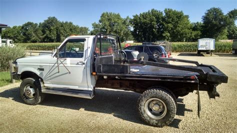 bale bed 1997 ford f350 with krogmann bale bed ptci classifieds