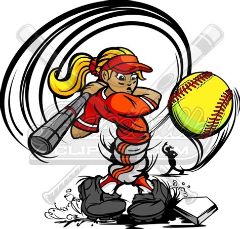 Free Fastpitch Softball Clipart fastpitch clip cliparts