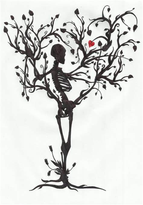 the tree of life tattoo the tree of by mrpale on deviantart skeleton tree