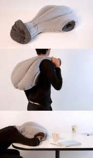ostrich pillow thingy for napping at work geekologie