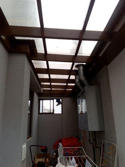techo transparente foto liacion logia interior techo transparente de