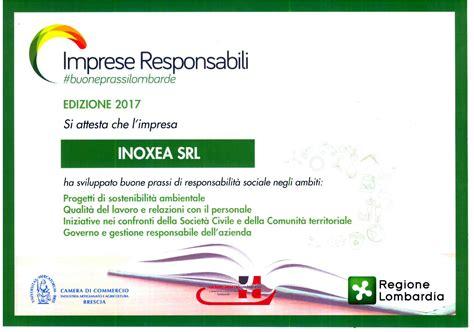 servizi inox inoxea premio buone prassi 2017 inoxea