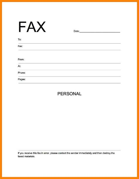 How To Make A Cover Page For A Paper - 4 how to make a fax cover sheet fancy resume